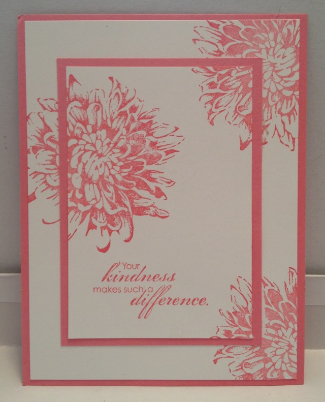 Double-time stamping using SU Blooming With Kindness