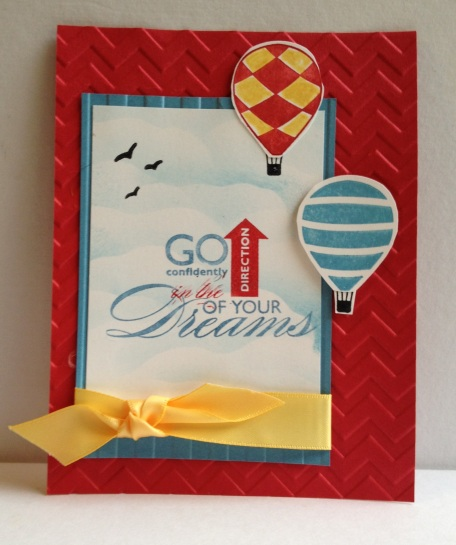 Stampin' Up! Up, up & Away