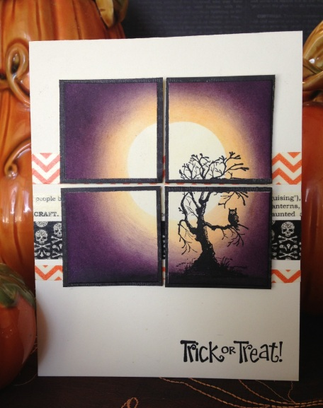 Stampin Up Witches Brew designer and matching washi tape and Best of Halloween set