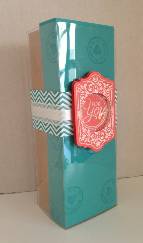 Iguanastamp! Stampin' Up Tag a Box kit