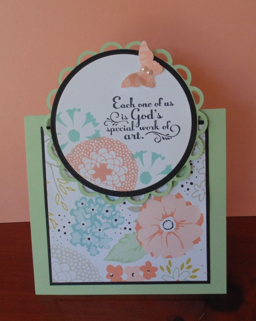 Iguanastamp! Stampin' Up Petal Parade and Sweet Sorbet dsp