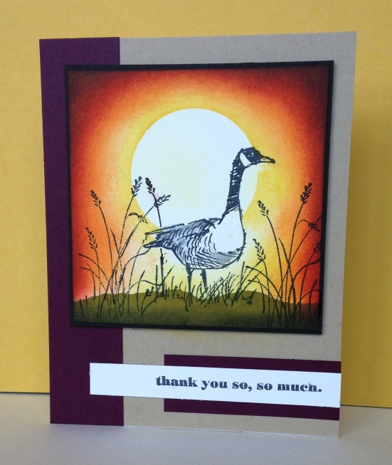 Iguanastamp! Stampin' Up Wetlands stamp set