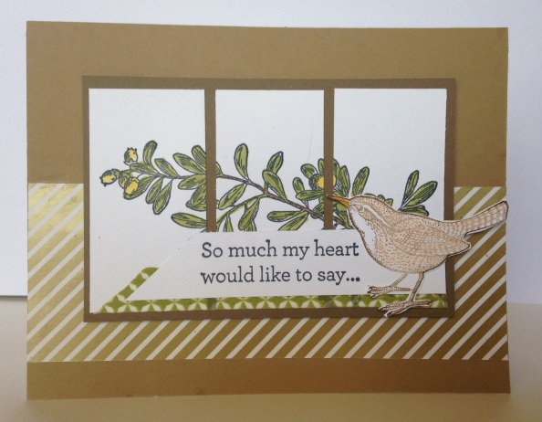 Stampin' Up An Open Heart
