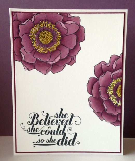Iguanastamp! Stampin' Up Blended Bloom