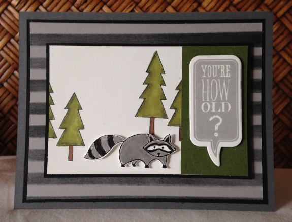 Iguanastamp! Stampin' Up Life in the Forest