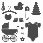 Stampin' Up Something for Baby