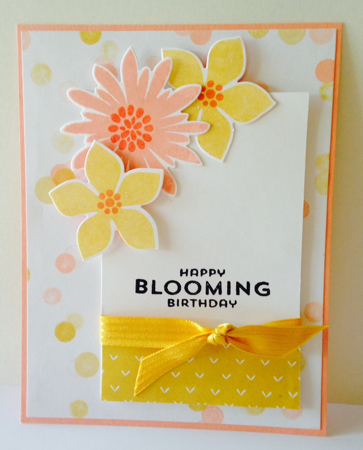Flower patch Stampin up and Flower on Pinterest