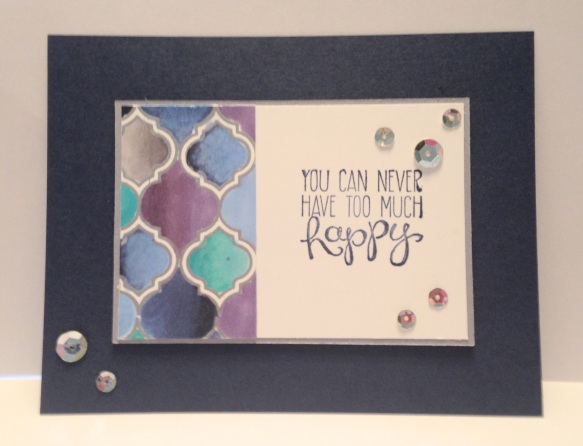 Iguanastamp! Stampin' Up Mosaic Madness