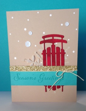 Iguanastamp! Stampin' Up WW Kit with Sled