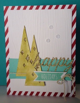 Iguanastamp! Stampin' Up WW kit with Trees