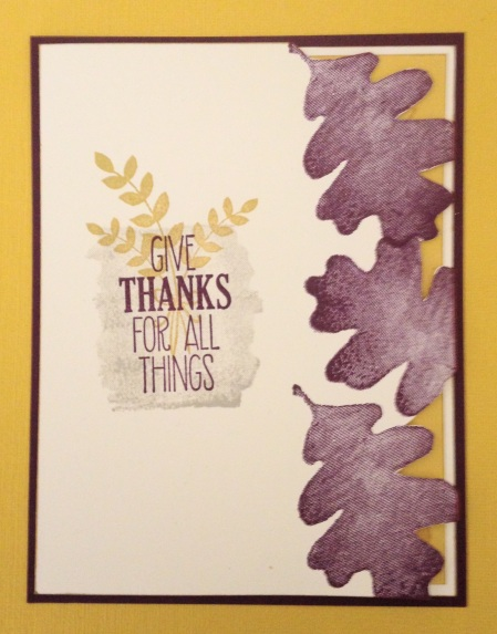 Stampin' Up For All Things