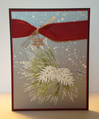 Iganastamp! Stampin' Up Ornamental Pine cased from Billie Moan