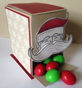 Iguanastamp! Santa Stache Boxes