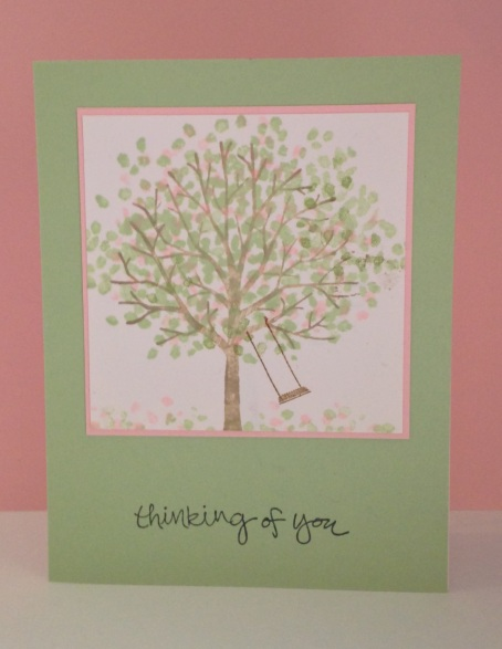 Iguanastamp! Stampin' Up Shletring Tree