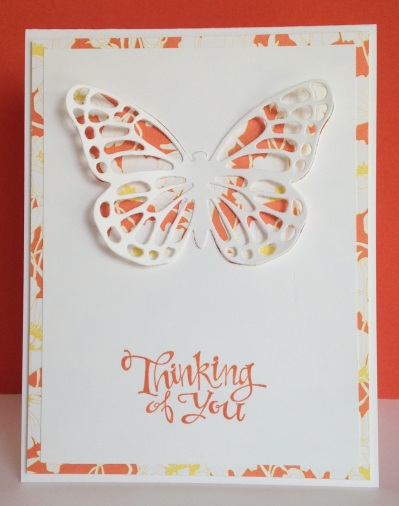 Iguanastamp! Stampin' Up Butterfly Thinlits