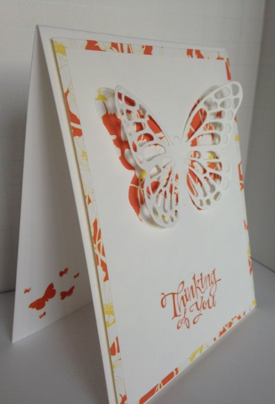 Iguanastamp! Stampin' Up Butterfly Thilits