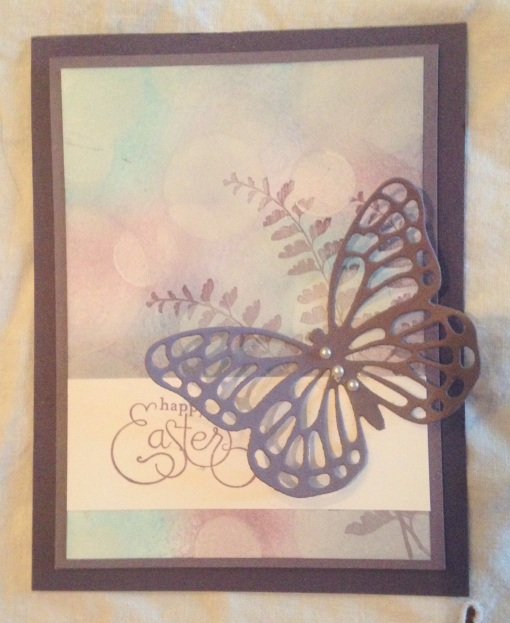 Iguanastamp! Stampin' Up Butterfly Basics and matching die