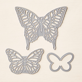 Stampin' Up Buttefly Thinlits