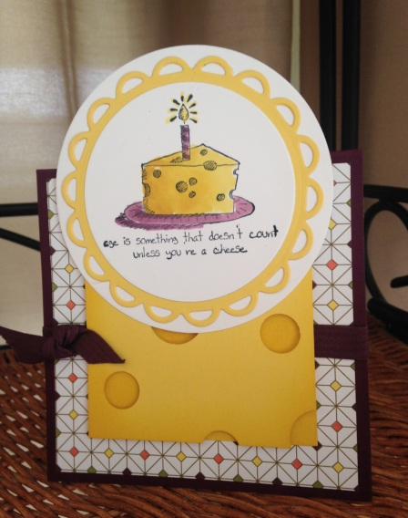 Iguanastamp! Stampin' Up Giggle Greetings