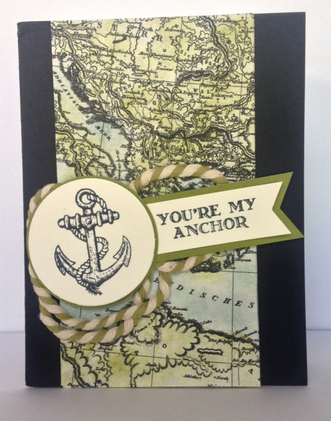 Stampin' Up card by Laura Laures