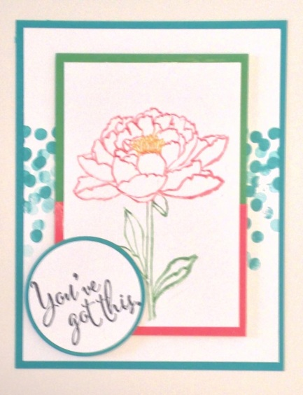 Iguanastamp! Stampin' Up Dotty Angles and You've Got This