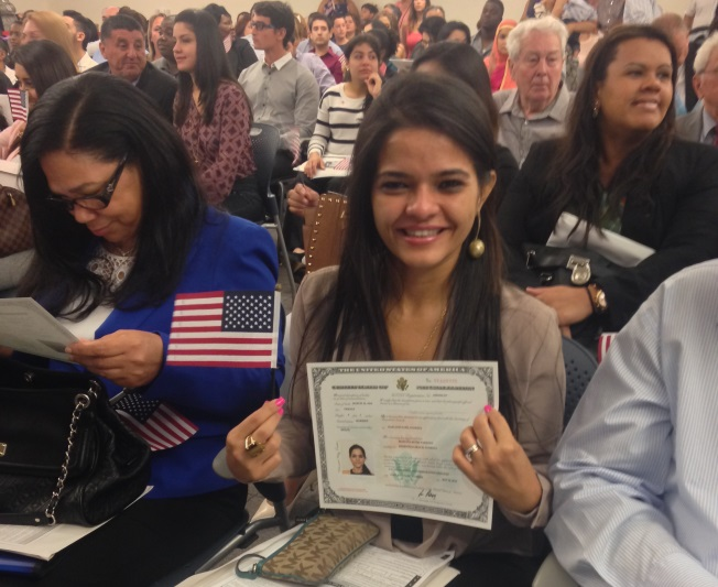 America's newest citizen